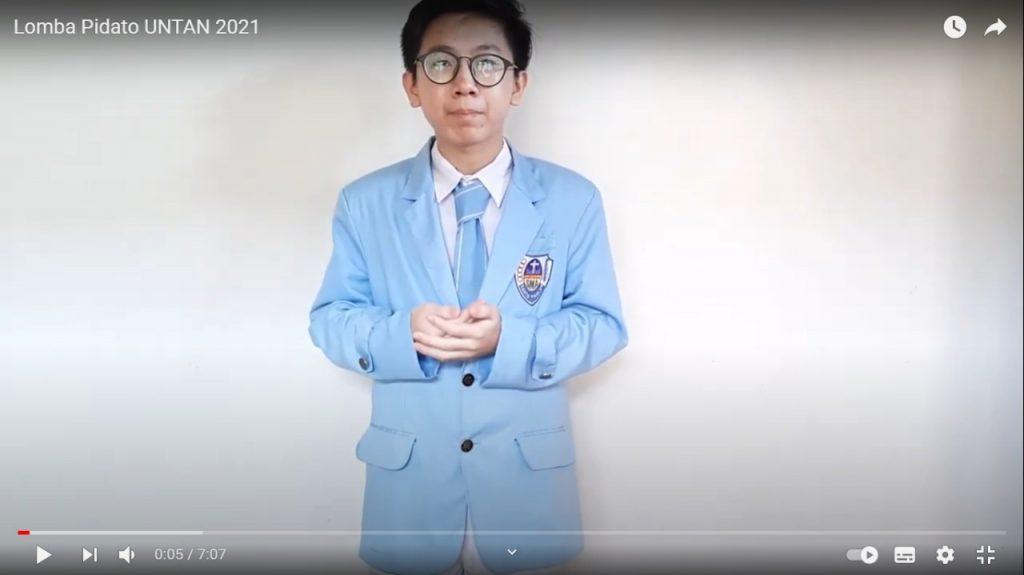 Raih Juara Harapan 1 Pada Lomba Pidato Bahasa Indonesia Pekan Raya Pendidikan