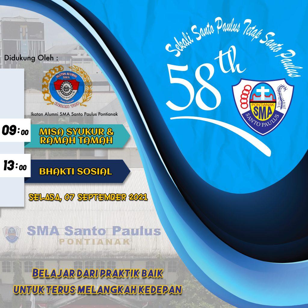 Kegiatan HUT ke- 58 SMA SANTO PAULUS PONTIANAK